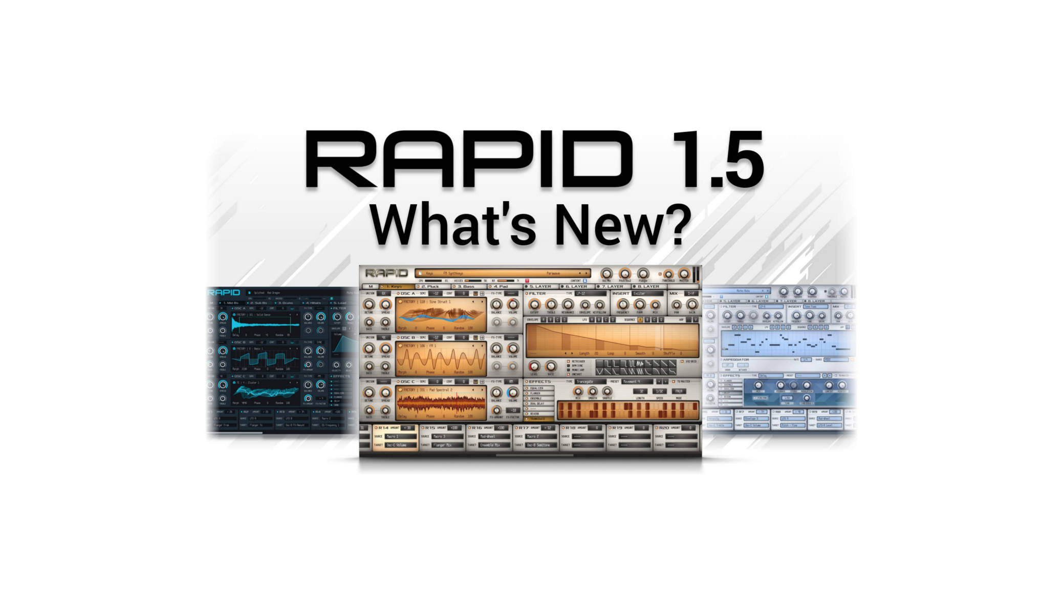 RAPID 1.5 - What's New?