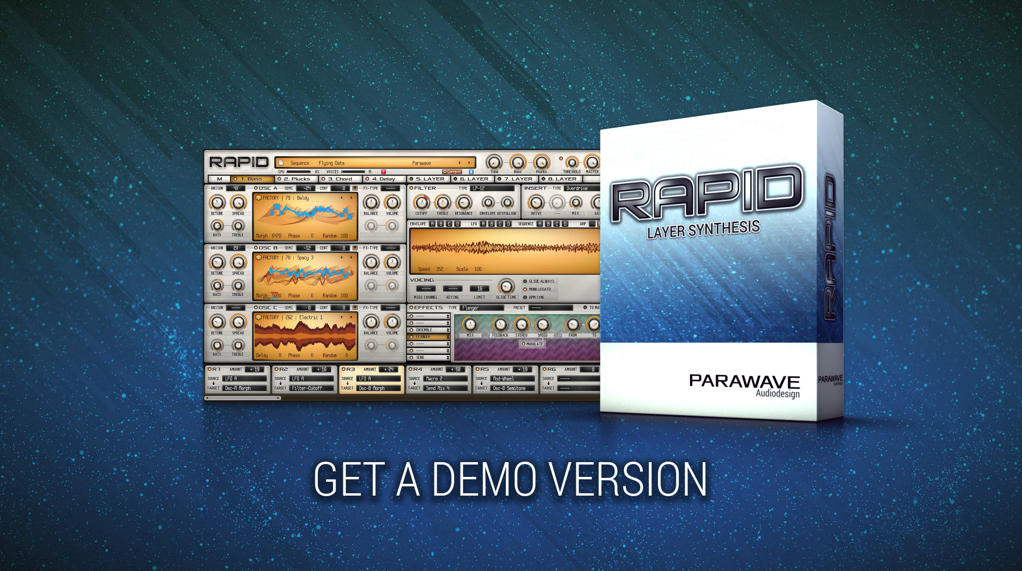 RAPID Synthesizer - Demo Version